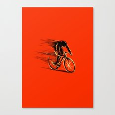 BikeCycling Canvas Print