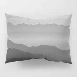 Misty mountains Pillow Sham