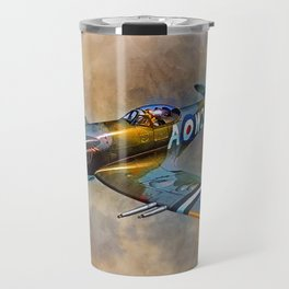 Spitfire Dawn Flight Travel Mug