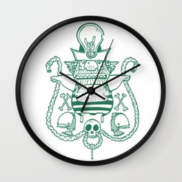 Captain Nicetits Wall Clock