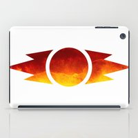 sith iPad Cases featuring Star Wars Sith Symbol by foreverwars