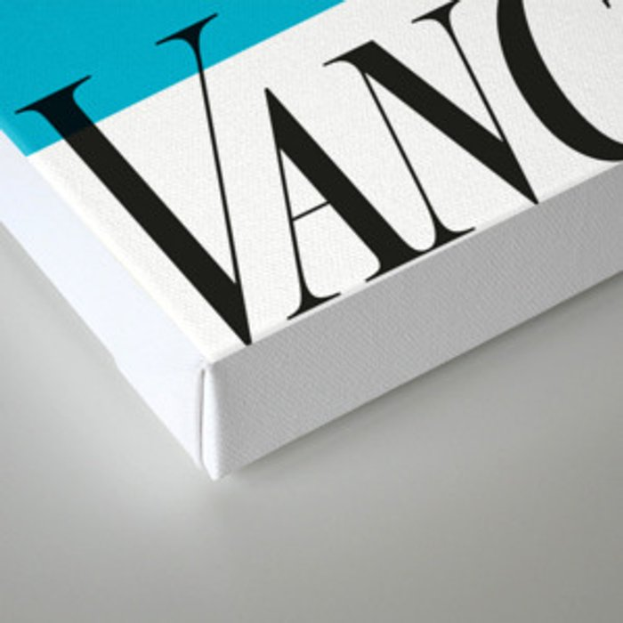 Vancouver's Canuck the Crow Canvas Print