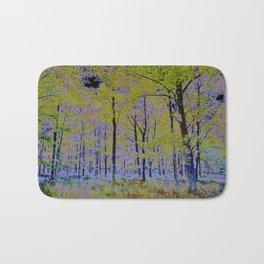 English Forest Art Bath Mat