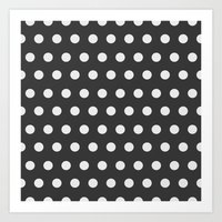 dots Art Prints featuring Dots by Nobu Design