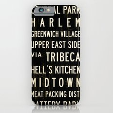 NYC Transit Sign Slim Case iPhone 6s
