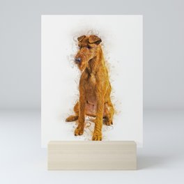 Irish Terrier Mini Art Print