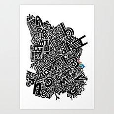 ABC Dream Art Print
