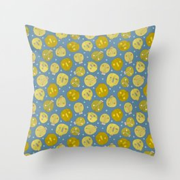 Pattern Project #47 / Skulls & Bulbs Throw Pillow
