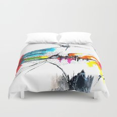 Haiku Duvet Cover