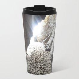 Light in Maghera Caves Ireland Travel Mug