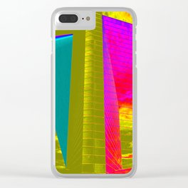 Architectonic in colors Clear iPhone Case