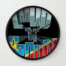 The DRC Pride Loud N Proud Wall Clock