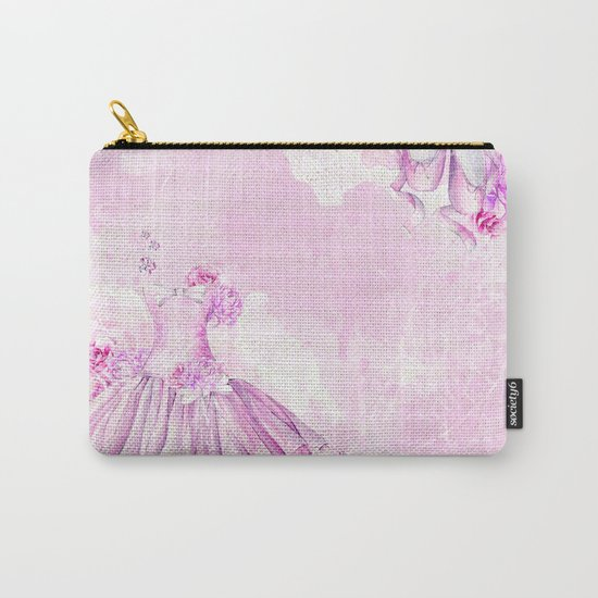Ballerina #3 Carry-All Pouch