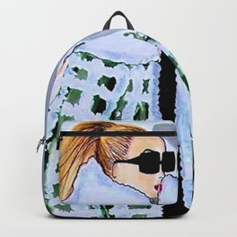 NEW YORK FAHION WEEK ILLUSTRATION BY JAMES THOMAS RYAN Backpack