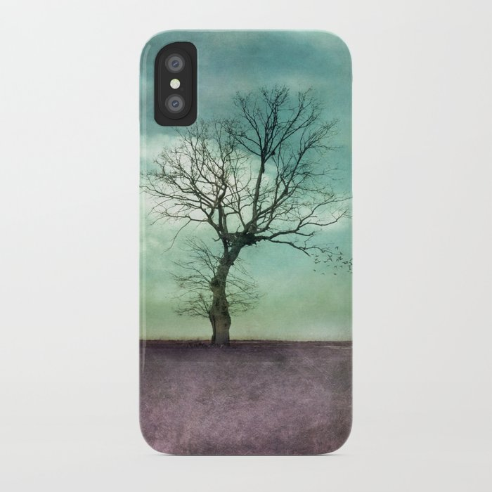 ATMOSPHERIC TREE I iPhone Case