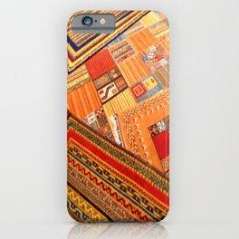 Turkish rugs in Kusadasi iPhone Case