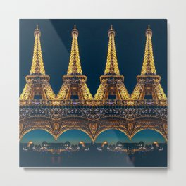 Eiffel Tower 4 Metal Print