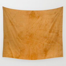 Dante Orange Stucco - Luxury - Rustic - Faux Finishes - Venetian Plaster Wall Tapestry