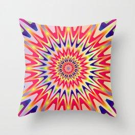 Sunshine Colorful Rainbow Spectrum Throw Pillow