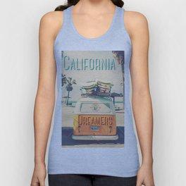 California dreamers Unisex Tank Top