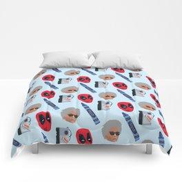 red hero Comforters