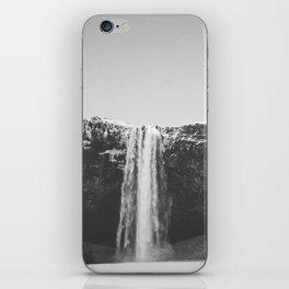 WATERFALL II / Seljalandsfoss, Iceland iPhone Skin