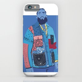 Nipsey Hussle by UVTM_Designs iPhone Case