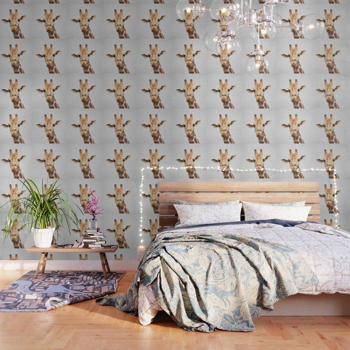 Giraffe 2 - Colorful Wallpaper