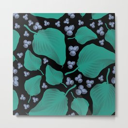 Patterns Floral Design Metal Print