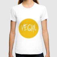 vegan T-shirts featuring Vegan. by Love Libby X