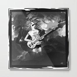 Dark bass Metal Print