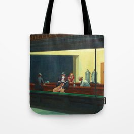 Pennywise in Hopper's Nighthawks Tote Bag