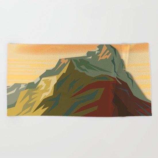 Night Mountains No. 44 Beach Towel