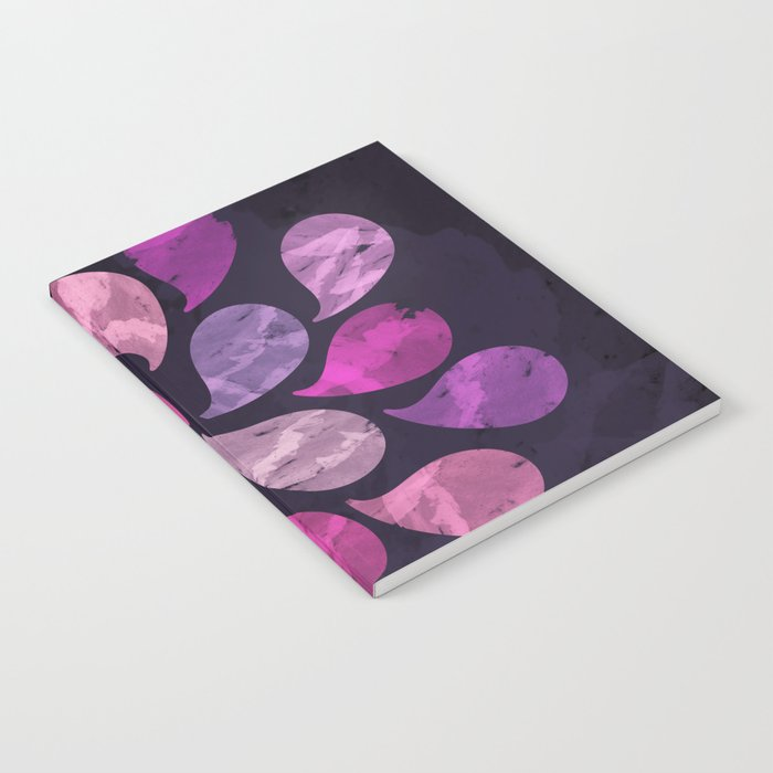 Abstract Water Drops Notebook