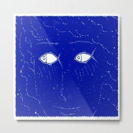 Fish Eyes Metal Print