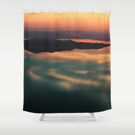 Ancient Reflections Shower Curtain