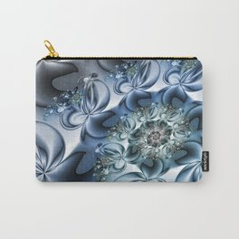 Dynamic Spiral, Abstract Fractal Art Carry-All Pouch