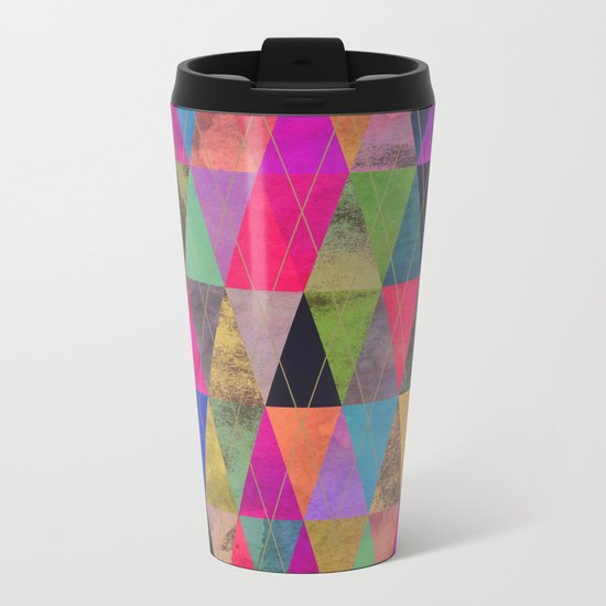 T16 Metal Travel Mug