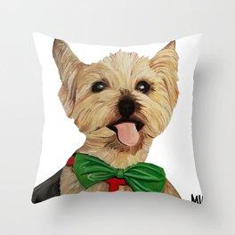 scruffy Throw Pillow