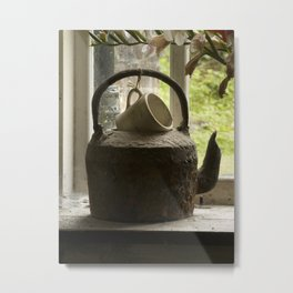 Get the kettle on Metal Print