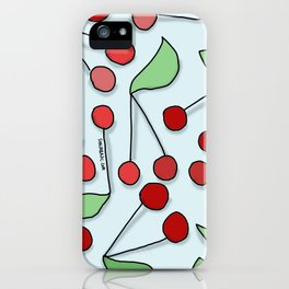 Cherries! July! iPhone Case