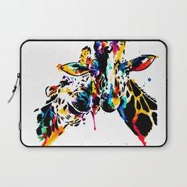 giraffe love Laptop Sleeve
