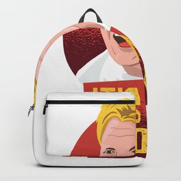 there is no boiling saying Backpack
