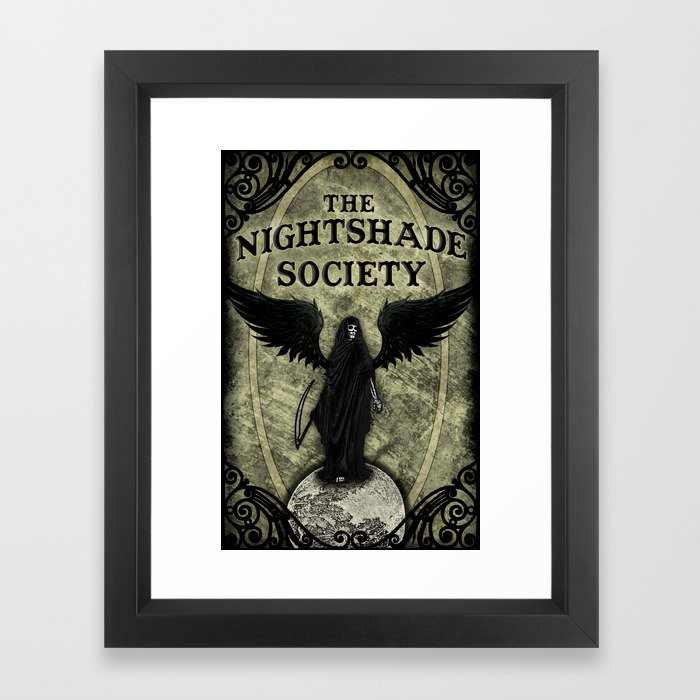 The Nightshade Society Framed Art Print