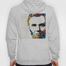 Abraham Lincoln Art - Colorful Abe - By Sharon Cummings Hoody
