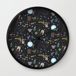 Tea Witch Starter Kit - Illustration Wall Clock