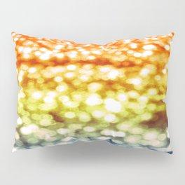 Rainbow Bokeh Sparkle Pillow Sham