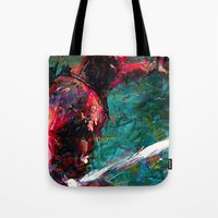 sword Tote Bags featuring SWORD DP by DITO SUGITO