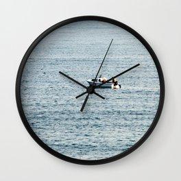Small Boat (2) Wall Clock