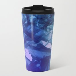Blue Violet Bends Travel Mug